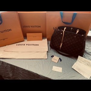 Authentic brand new Louis Vuitton Montaigne Gm